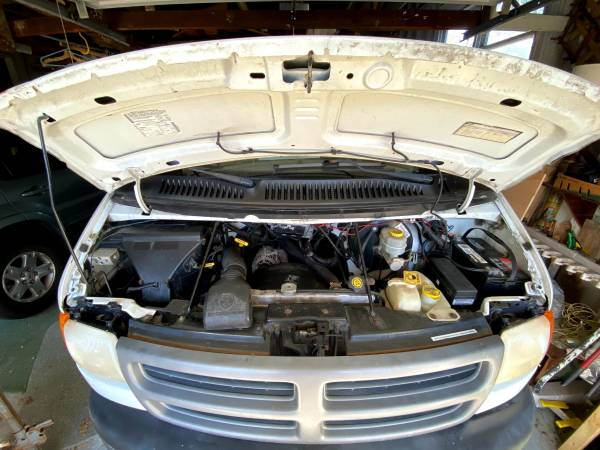 Photo Cer Van Project  2001 Dodge Ram Van 1500 - $4000 (Northport)