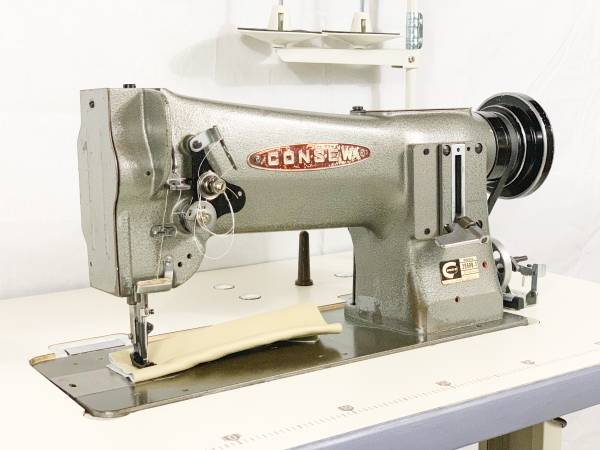 Photo Consew 206RB-1 Walking Foot Sewing Machine - $1375