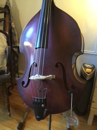 Photo Czech Ease Upright Bass  Extras - $3,000 (Brooklyn)