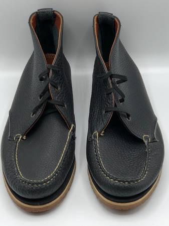 Photo DOONEY And BOURKE Women39s Chukkas Wallabies Black Leather Sz. 11m - $25 (Scarsdale)