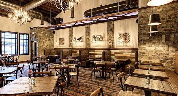 Photo EndGrainLumberCo Restaurant Table Bar Tops Metal Bases All Custom Made (Bloomfield NJ)