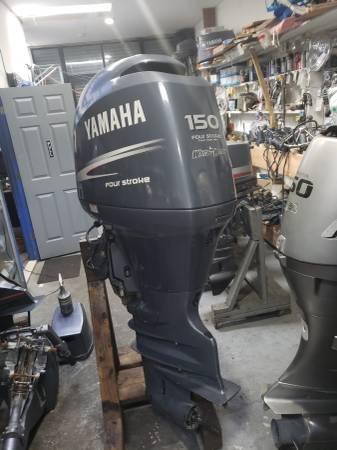 Photo F150 Yamaha Outboard motor engine 2008 - $5200 (I will ship worldwide)