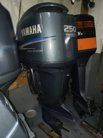 Photo F250 hp Yamaha Outboard motor engine dec motor - $6000 (I will ship worldwide)