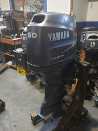 Photo F60 hp Yamaha Outboard motor engine 2007 fuel injection - $2950 (I will ship worldwide)