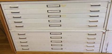 Photo Large flat file cabinet flat files for storage of art maps posters etc - $400 (Gowanus)