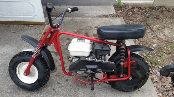 Photo Manco Mini-Bike with Honda 5.5 HP Engine - $400 (Cortlandt Manor, New York)