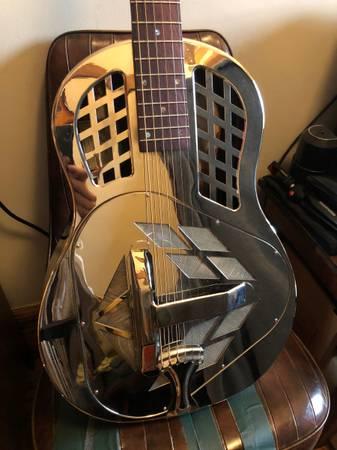 Photo Recording King tricone resonator guitar RM-991 - $800 (Harlem  Morningside)