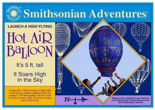 Photo SMITHSONIAN ADVENTURES LAUNCH A HIGH FLYING HOT AIR BALLOON - $20 (East Harlem)