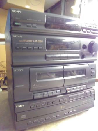 Photo SONY Stereo System HCD-D550 - $20 (CONEY ISLAND)