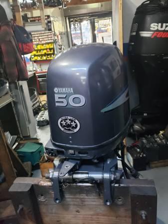 Photo T50 hp Yamaha Outboard motor engine - $2750 (I will ship worldwide)