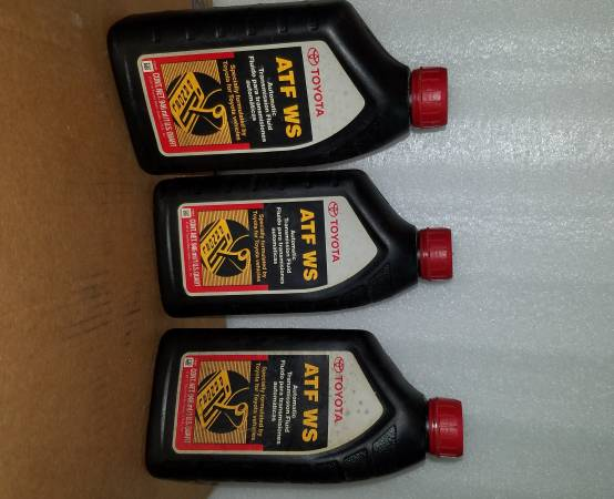 Photo Toyota-Lexus Transmission Fluid NEW OEM sealed Qts. Only gtgtgtgt - $8 (brooklyn)