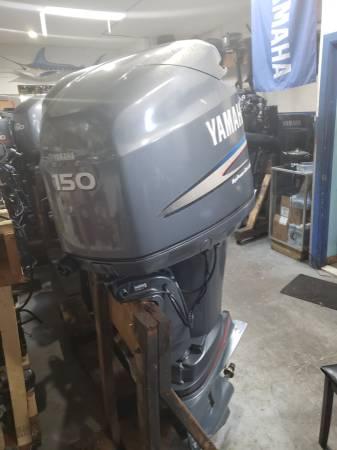 Photo Z150 hp Yamaha Outboard motor engine - $2550 (I will ship worldwide)
