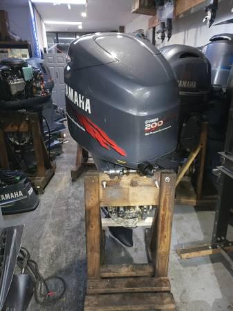 Photo Z200 hp Yamaha Outboard motor engine - $2750 (I will ship worldwide)