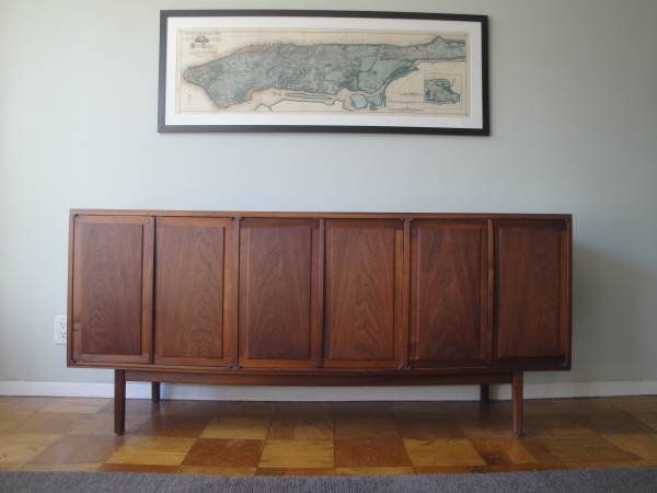 Photo vintage midcentury modern credenza  sideboard  buffet - $1,600 (Union Square)