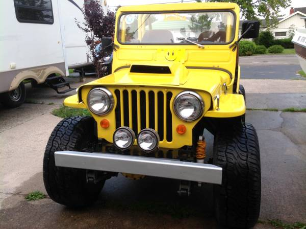 Photo 1947 CJ-2A Willys - $8,500 (East Tawas)