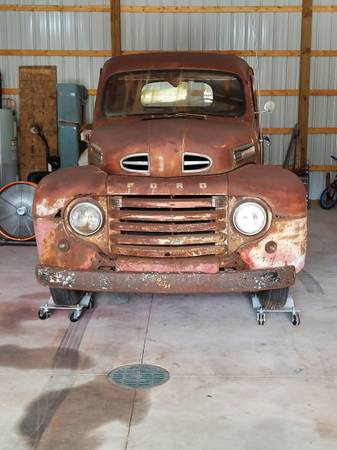 Photo 1948 Ford F1 Pick Up Truck - $5,900 (Cadillac)