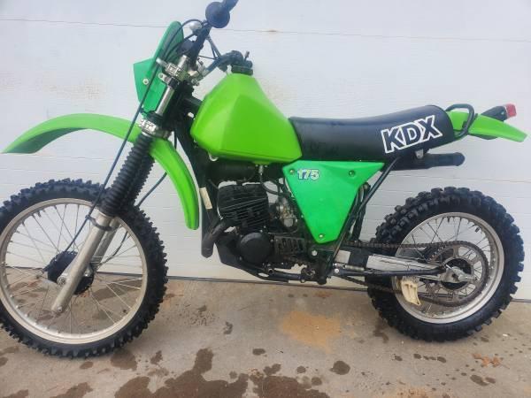 Photo 1980 Kawasaki KDX 175 - $2,900 (Traverse City)