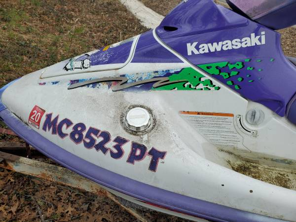 Photo 1994 Kawasaki 750 jet ski - $650 (Hillman)