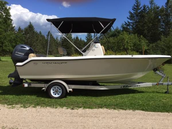 Photo 2018 Key West 19 foot Center Console Boat - $28,500 (Cedarville)