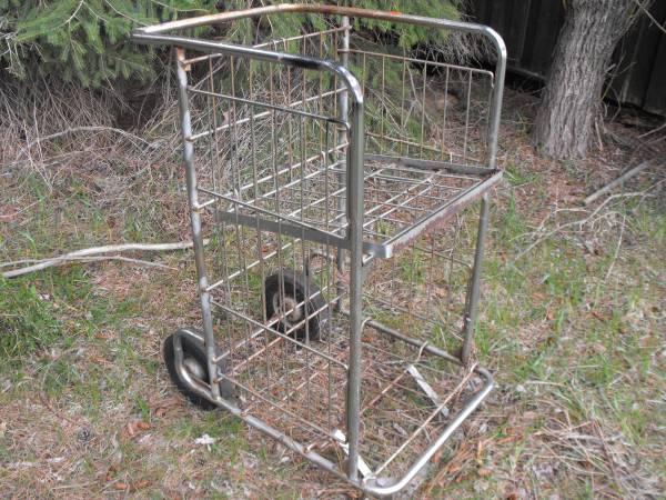 Photo 2 old bread bag boy carts - $80 (lake city)