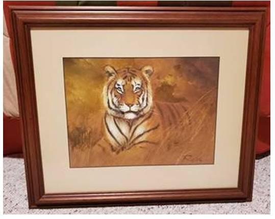 Photo Bengal Tiger Wall Decor - $50 (grand rapids, mi)