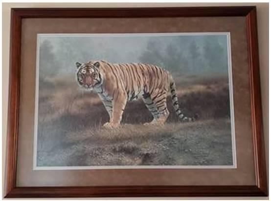 Photo Bengal Tiger Wall Decor - $75 (grand rapids)