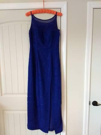 Photo Cobalt Blue Gown - $30 (Williamsburg)