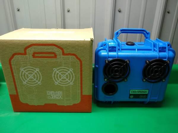 Photo Demerbox DB2 Bluetooth Speaker Pelican Case Box - $250 (Lake Ann)