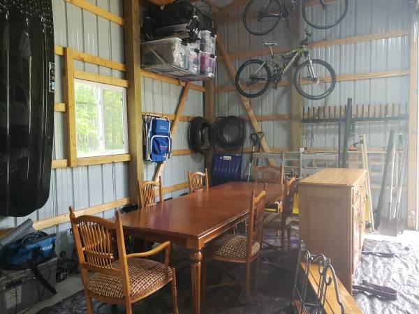 Photo Ethan Allen Dining set - $2,500 (Irons,MI)