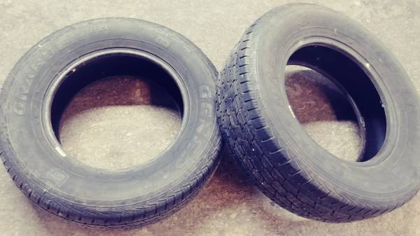 Photo General Grabber tires (2) - $40