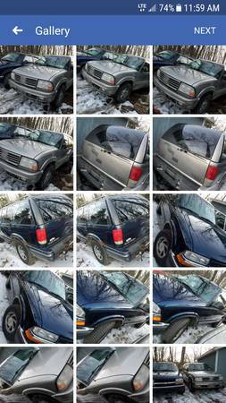 Photo Parting out a 2000 Chevy Blazer let me know what you need - $1000 (Baldwin)