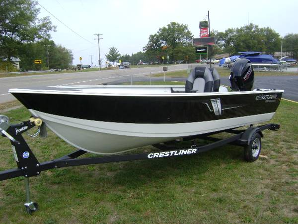 Photo SALE - 2020 Crestliner 1650 Discovery Tiller w50hp - $17,695 (Roscommon)