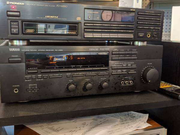 Photo STEREO RECEIVERS  YAMAHA 5.1  FISHER COMPACT SYSTEM DENON 5.1  NAD - $99 (TRAVERSE CITY)