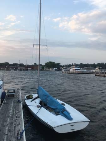 Photo Sail Boat  Trailer For Sale - $1,700 (Ludington)