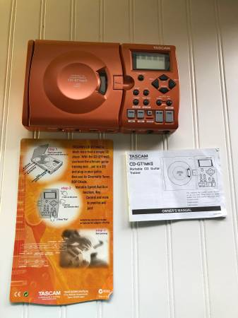 Photo Tascam CD-GT1 MKII Portable CD Guitar Trainer - $20 (Traverse City)