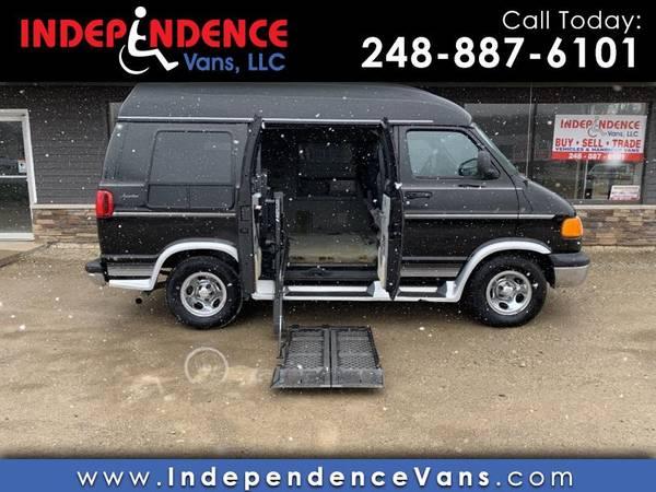 Photo Wheelchair Accessible Handicap Van - 2002 Dodge Ram 1500 109 WB - $7500 (2461 E Highland Rd., Highland, MI 48356)