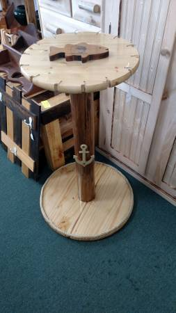 Photo fishing pole holder--new--14 rods--made local cedar and pine - $150 (hgt lake prudenviile)