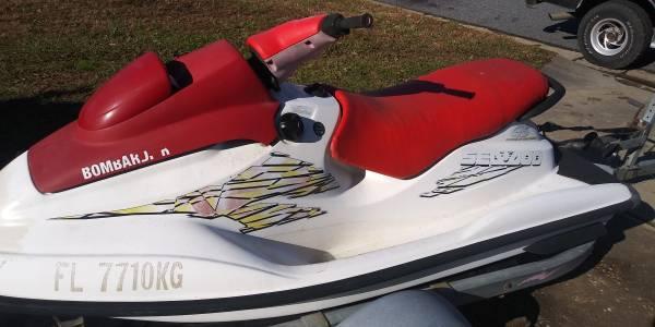Photo 1998 sea doo GS big two seater ski for sale  cheap - $795 (Chesapeake)