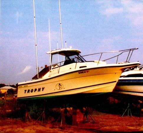 Photo 2000 Bayliner Trophy 2352 Walk-Around with Trailer - $8000 (Virginia Beach)