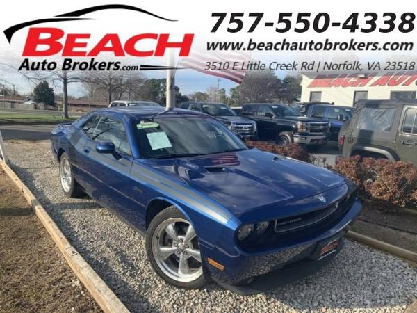 Photo 2010 Dodge Challenger RT, WARRANTY, LEATHER, MANUAL, NAV, BLUETOOTH, (_Dodge_ _Challenger_ _Coupe_)
