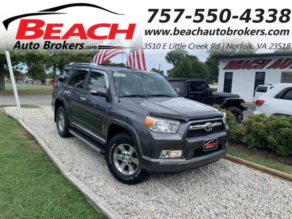 Photo 2010 Toyota 4Runner SR5 4X4, WARRANTY, LEATHER, SUNROOF, BLUETOOTH, CL (_Toyota_ _4Runner_ _SUV_)