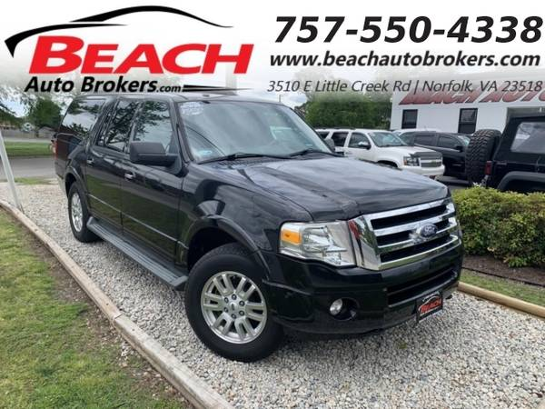 Photo 2011 Ford Expedition EL EL XLT 4X4, WARRANTY, 3RD ROW, SUNROOF, TOW PK (_Ford_ _Expedition EL_ _SUV_)