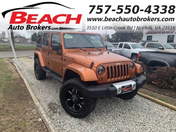 Photo 2011 Jeep Wrangler Unlimited UNLIMITED SAHARA 4X4, WARRANTY, LEATHER, (_Jeep_ _Wrangler Unlimited_ _SUV_)