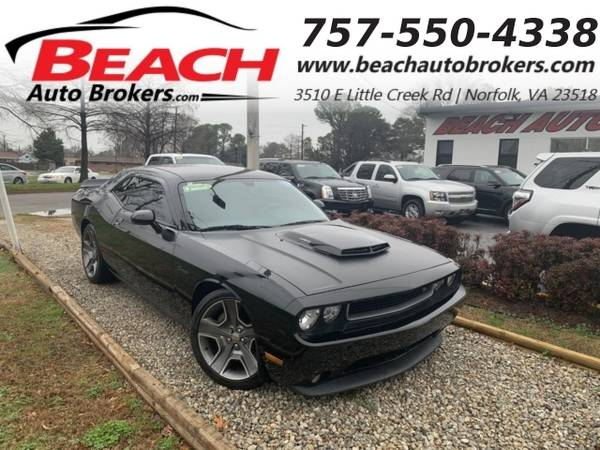 Photo 2012 Dodge Challenger RT, WARRANTY, MANUAL, HEMI, LEATHER, BACKUP CAM (_Dodge_ _Challenger_ _Coupe_)