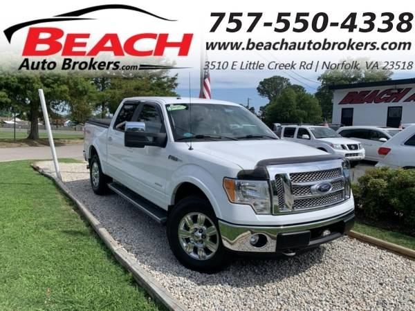 Photo 2012 Ford F-150 LARIAT SUPERCREW 4X4, WARRANTY, LEATHER, HEATED SE (_Ford_ _F-150_ _Truck_)
