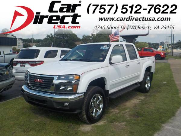 Photo 2012 GMC Canyon SLE-2 CREW CAB 4X4, BED LINER, RUNNING BOARDS, ONS (_GMC_ _Canyon_ _Truck_)