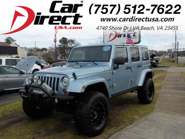 Photo 2012 Jeep Wrangler Unlimited UNLIMITED ARCTIC EDITION 4X4, WARRANTY, H (_Jeep_ _Wrangler Unlimited_ _SUV_)