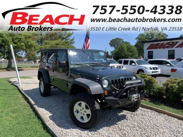 Photo 2012 Jeep Wrangler Unlimited UNLIMITED SPORT 4X4, WARRANTY, SIRIUS RAD (_Jeep_ _Wrangler Unlimited_ _SUV_)