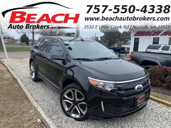 Photo 2013 Ford Edge SPORT, WARRANTY, LEATHER, BACKUP CAM, PARKING SENS (_Ford_ _Edge_ _SUV_)