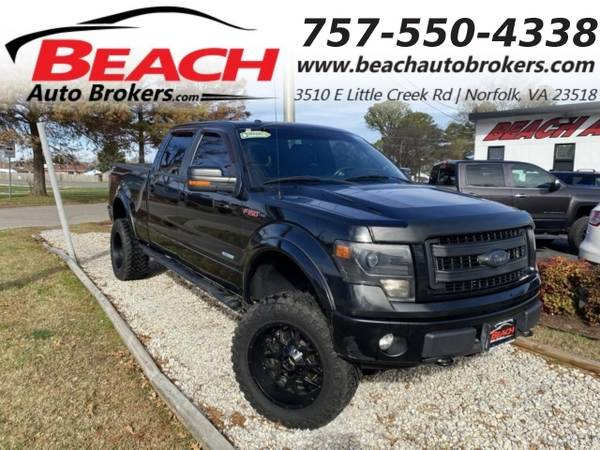 Photo 2013 Ford F-150 FX4 SUPERCREW 4X4, WARRANTY, LIFTED, LEATHER, NAV, (_Ford_ _F-150_ _Truck_)